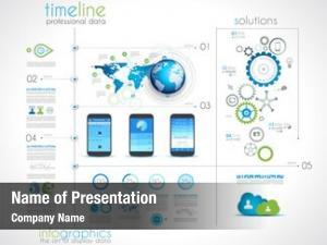 Infographics timeline design desing elements