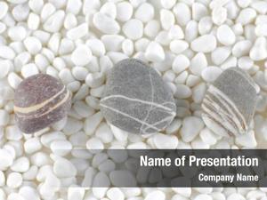 White gray stones beach stones