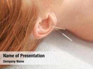 Therapy of female powerpoint theme