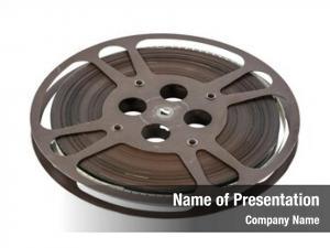 Film old movie reel white