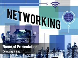Businesswomen internet global connection