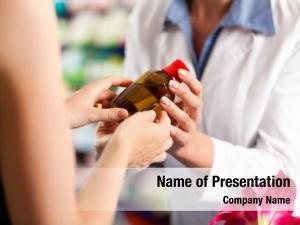 Consulting female pharmacist female customer