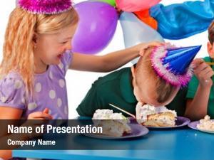 Children birthday party birthday children celebrate
