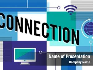 Global connection ppt theme