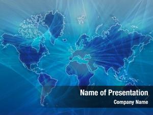 Over data transfer map world