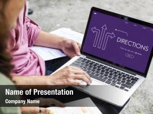 Alternative directions powerpoint template
