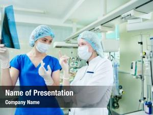Intensive care powerpoint theme