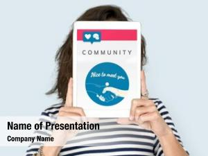Community connection powerpoint theme