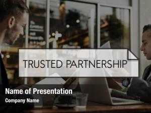 Trusted partnership powerpoint template
