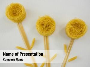 Varieties of pasta forming