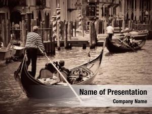 Venice, gondola canal italy