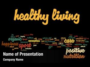 Healthy concept conceptual living positive