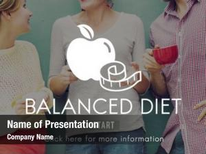 Healthy balanced diet nutrition choice