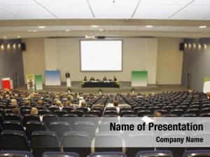 Conference businessmen works big conference