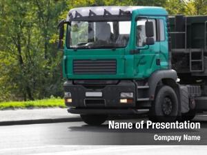 Cargo front american truck