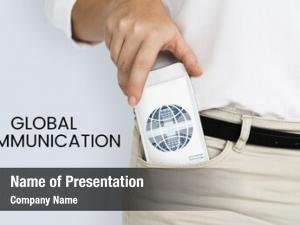 Graphic of global ppt template