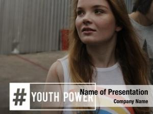 Attitude hashtag young youth power