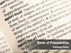 Spiritual definition