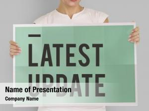 Latest news powerpoint template