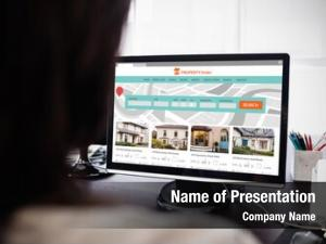 Web composite property site against