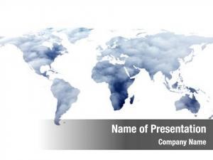 World conceptual flat map