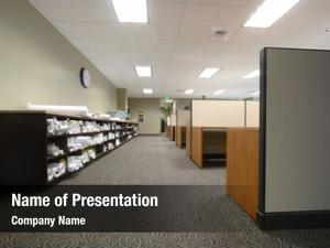 Large work floor corporate office
