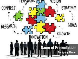 Connection teamwork team strategy partnership