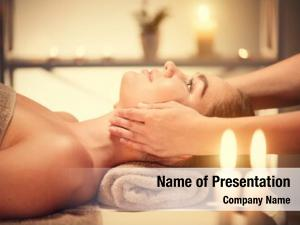 Massage spa woman