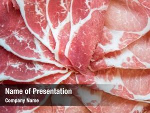 Meat sirloin beef kurobuta pork