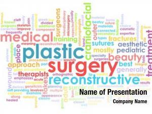 Concept plastic surgery medical procedure