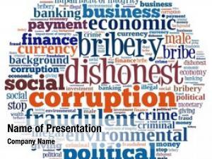 Collage corruption word