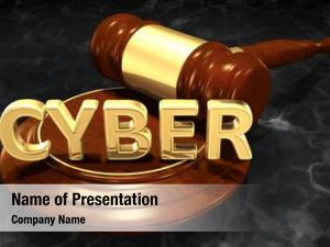 Cyber crime cyber law concept
