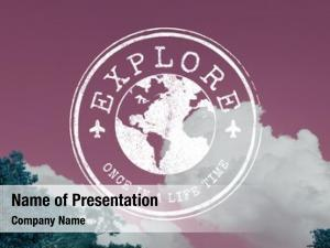 Continent powerpoint template