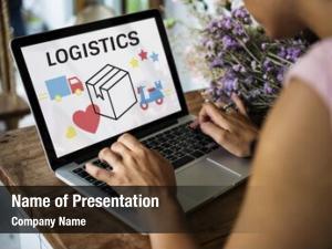 Logistics concept powerpoint template