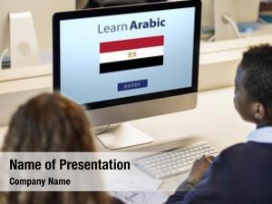 Language learn arabic online education