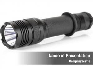 Led military tactical flashlight, white