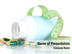 Measuring diet pills tape