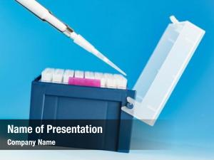 Pipette tips powerpoint template