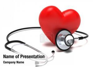White heart stethoscope