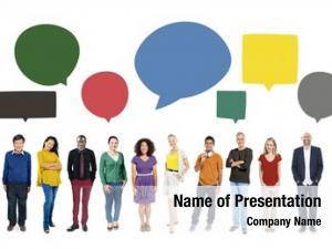 Diversity people communication multiethnic group
