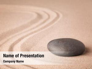 Zen meditation sand