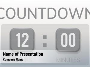 Countdown valuable waste time