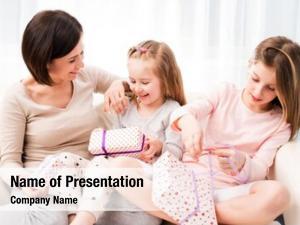 Her cheerful mom beautiful daughters