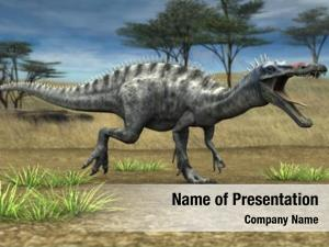 Savanna suchomimis dinosaur