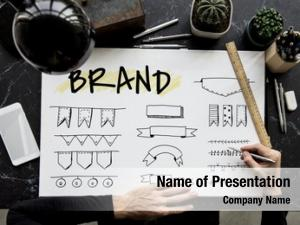 Brand trademark powerpoint template