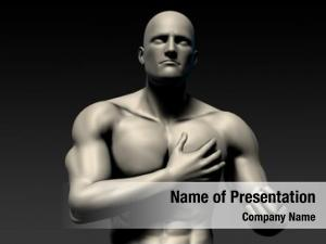Chest pains powerpoint template