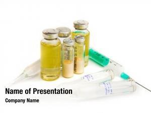 Syringe flasks medicines