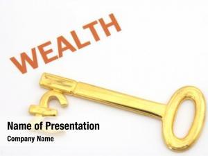 Pound gold key symbol next