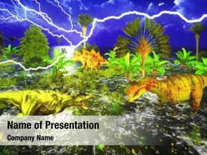 Lightning dinosaur doomsday strike