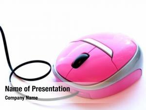 Optical pink mouse mouse wireless